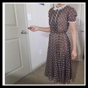 Dresses & Skirts - ❤ Polka Dot Dress